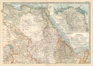 Plate 55. Map of Africa by Encyclopaedia Britannica