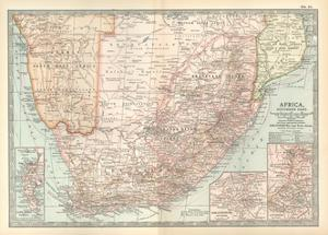 Plate 57. Map of Africa by Encyclopaedia Britannica