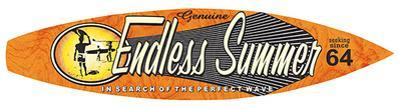 Endless Summer Surfboard Plaque