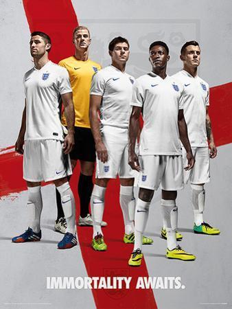 England - Immortality Awaits Poster