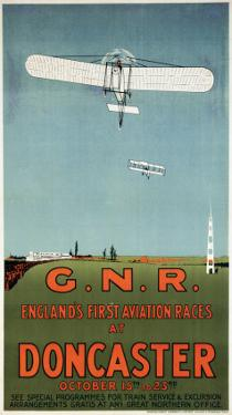 England's First Aviation Races at Doncaster, GNR, c.1909