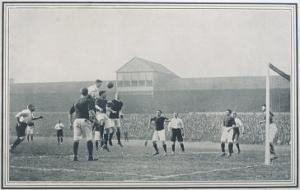 England V Scotland Goalmouth Action During Scotland's 2-1 Win at Bramall Lane Sheffield