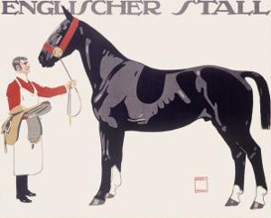 Englischer Stall Horse