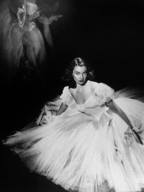 English Actress Vivien Leigh (1913-1967) in 1940