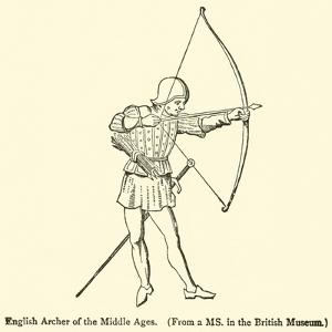 English Archer of the Middle Ages
