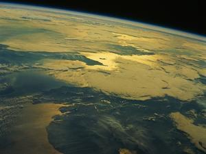 English Channel from Orbit