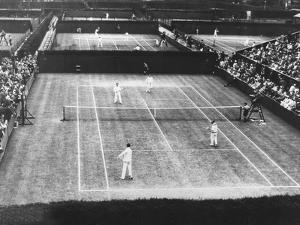 English Lawn Tennis Championship Play at Wimbledon, July 2, 1930