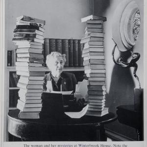 Agatha Christie, the Woman and Her Mysteries at Winterbrook House by English Photographer