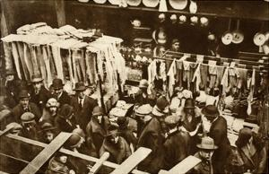 Berwick Street Market, Soho, on a Saturday, from 'Wonderful London', Published 1926-27 by English Photographer