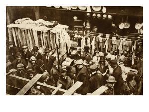 Berwick Street Market, Soho, on a Saturday, from 'Wonderful London', Published 1926-27 by English Photographer