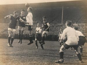 Bolton Wanderers vs. West Ham United, FA Cup Final, 28th April 1923 by English Photographer
