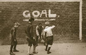 Boys Playing in the East End, from 'Wonderful London', Published 1926-27 (Photogravure) by English Photographer