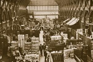 Fruit Department at Covent Garden by English Photographer