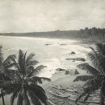 Mount Lavinia Bay, Ceylon, February 1912