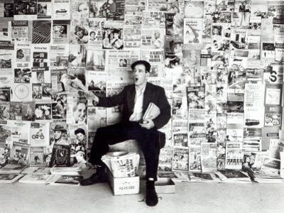 Newspaper Salesman, c.1960 by English Photographer