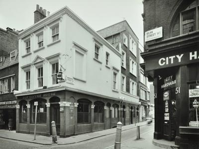 Old Coffee House, 49 Beak Street, 1976 by English Photographer