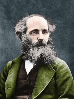 Portrait of James Clerk Maxwell (1831-1879), Scottish physicist by English Photographer