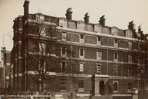 Queen Charlotte's Hospital by English Photographer