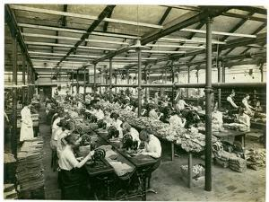 Slipper Manufacture, Long Meadow, 1923 by English Photographer