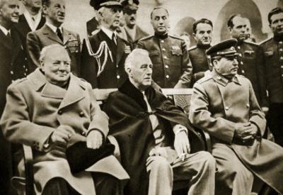 The 'Big Three' at the Yalta Conference