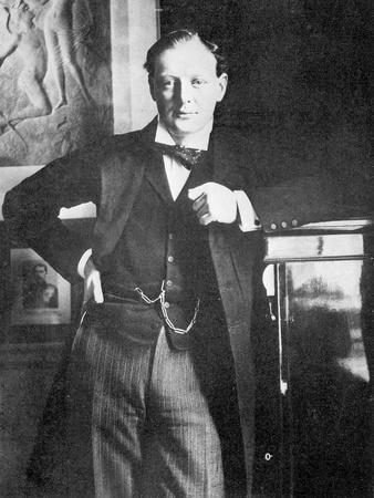 Winston Spencer Churchill in 1904
