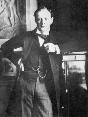 Winston Spencer Churchill in 1904 by English Photographer