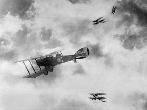 World War One Aircraft, 1916-17 by English Photographer