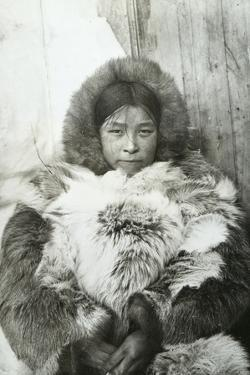 Young Greenland Woman, 1923 by English Photographer