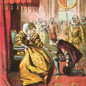 Queen Elizabeth and Shakespeare by English