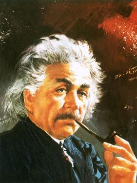 Albert Einstein by English School