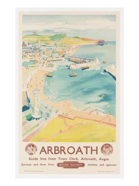 Arbroath, Poster Advertising British Railways, C.1950 by English School