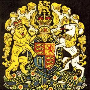 British Coat of Arms by English School