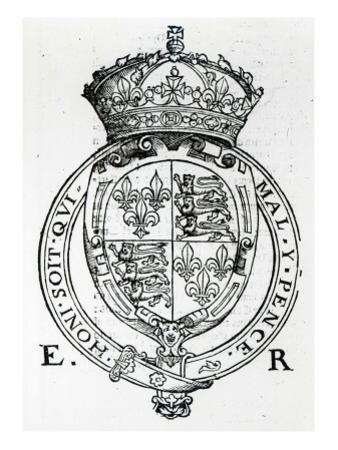 Coat of Arms of Queen Elizabeth I by English School