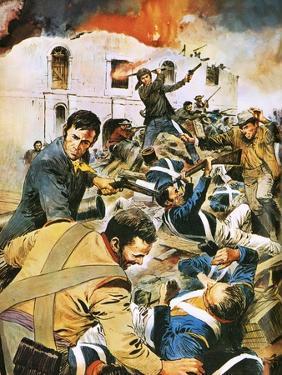 Defending the Alamo by English School