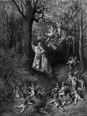 Devil fron 'Christ's Descent into Hell' by English School