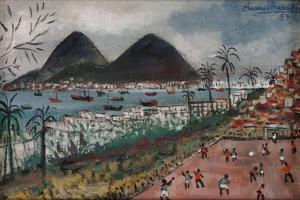Football at Rio de Janeiro by English School