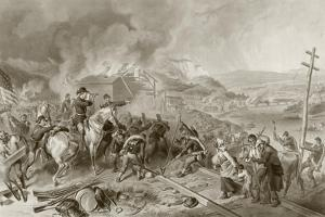 General Sherman's March to the Sea by English School