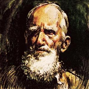 George Bernard Shaw by English School