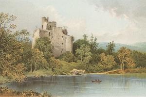 Invergarry Castle - Loch Oich by English School