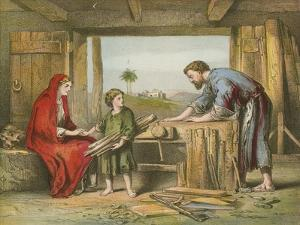 Jesus at Home by English School
