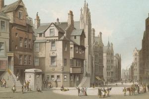 John Knox's House and Canongate - Edinburgh by English School