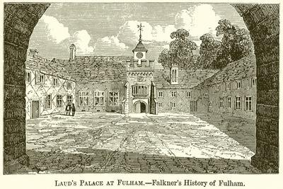 Laud's Palace at Fulham.--Falkner's History of Fulham