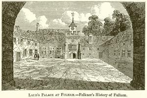Laud's Palace at Fulham.--Falkner's History of Fulham by English School
