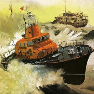 Lifeboat Rescue by English School