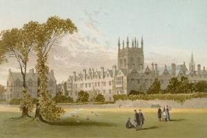 Merton College - Oxford by English School
