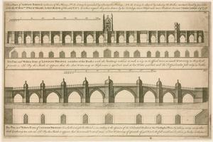 Plans for New London Bridge by English School