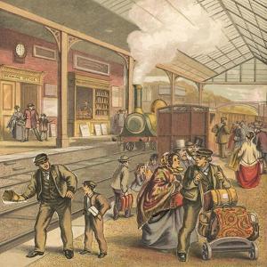 Railway Station by English School