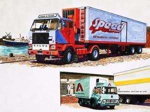 Refrigerated Trucks by English School