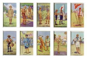 Scouts from around the World, 1923 by English School