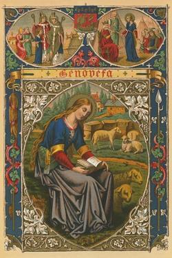 St Genevieve by English School